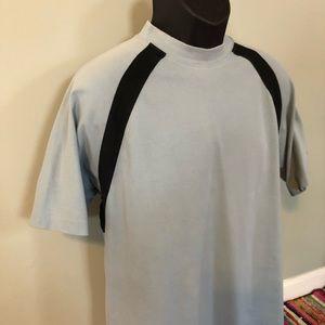 Burberry Shirts - 90s Burberry Golf Tee Shirt Stripe Vintage Logo